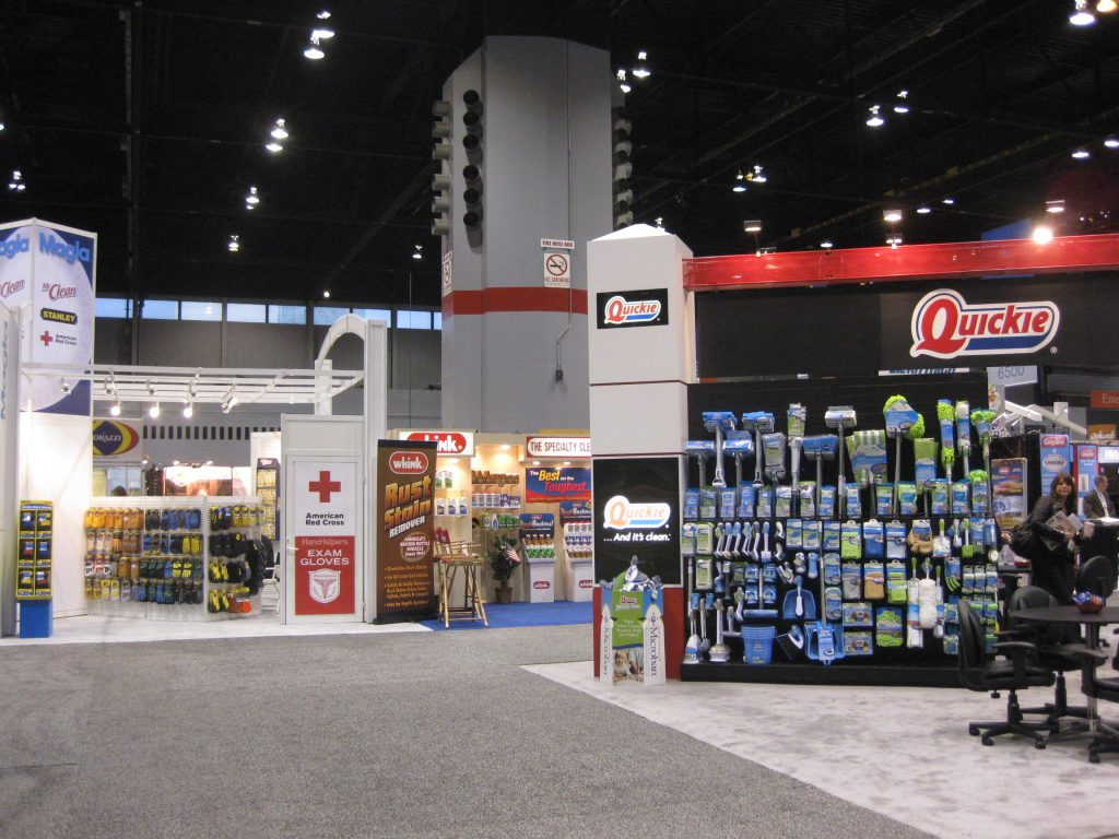 The main entrance to the International Home + Housewares Show, one of the top trade shows on our list.
