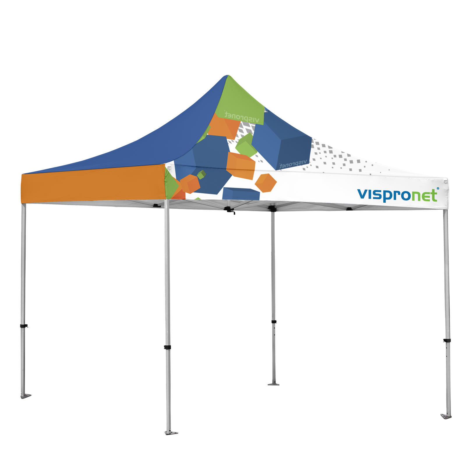 sc 1 st  Vispronet & Custom Instant Shelter Canopy Tents - Full Color Printing