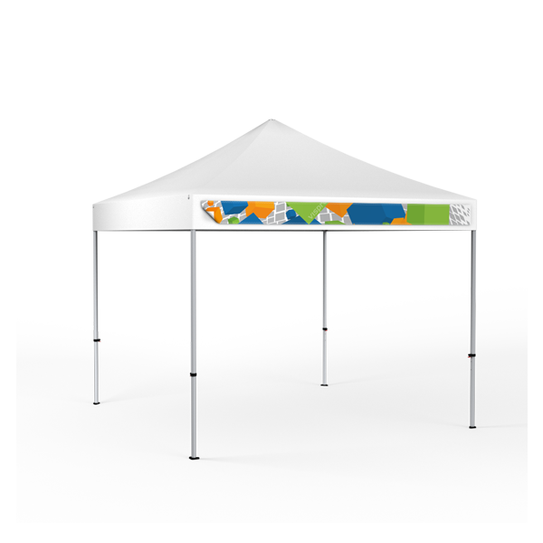 Tent Valance Banners Removable Canopy Valance Banner