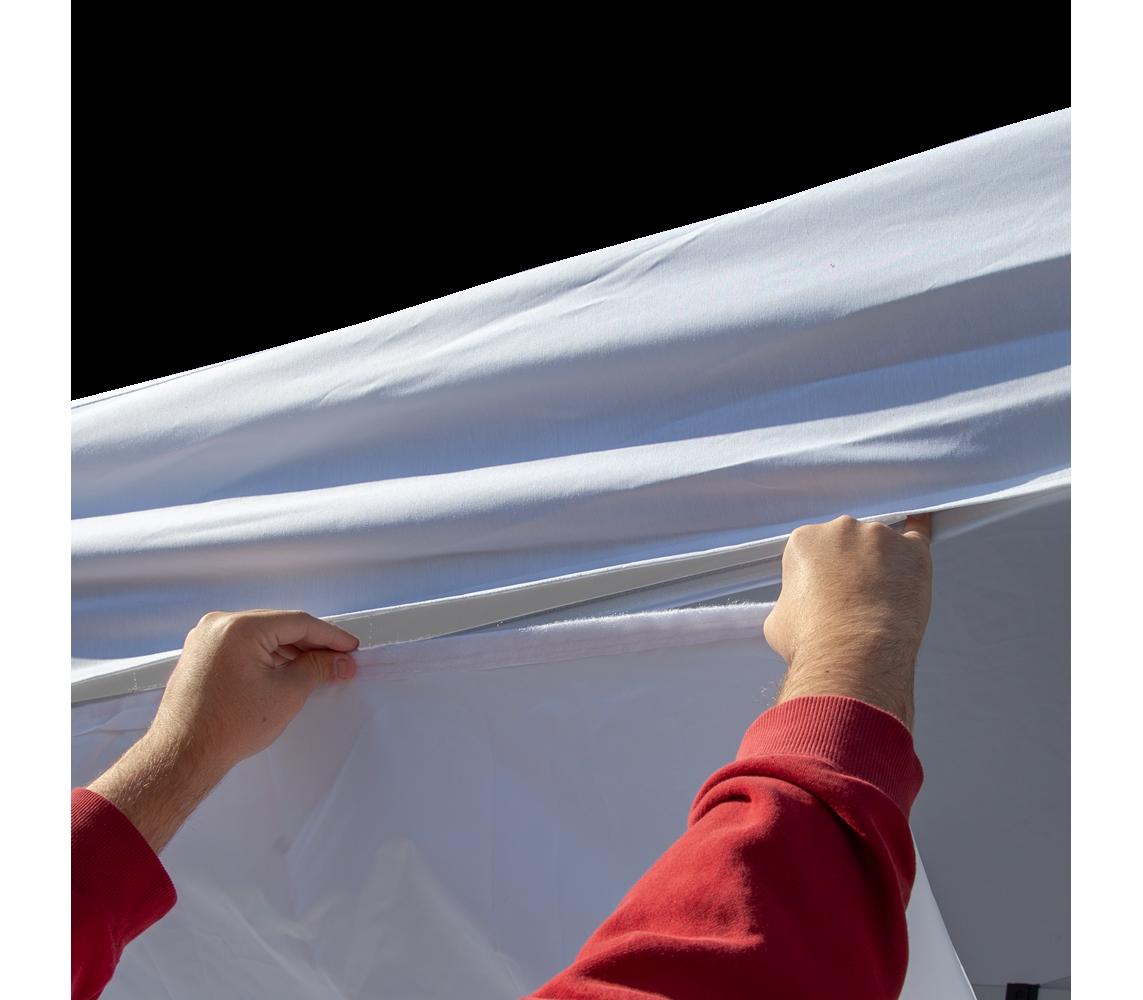 Hanging Vinyl Canopy Banner Vispronet