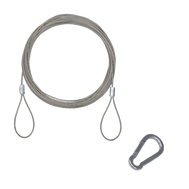 Hanging Kit 15.0' Steel Rope