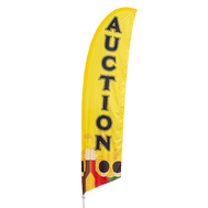 Auction Feather Flag Kit