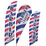 Barber Shop Feather Flag Kit