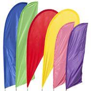 Blank Feather Flag Kit