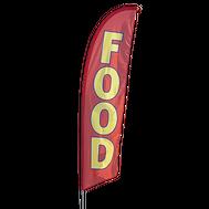 Food Feather Flag Kit
