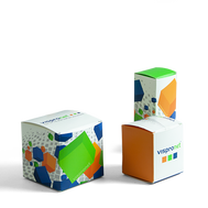 Vibrant cartons for product packaging in a wide array of sizes