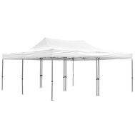20x20 Deluxe Tent with white canopy