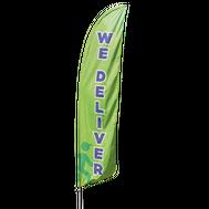 We Deliver Feather Flag Kit