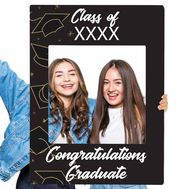 Congrats grad selfie frame