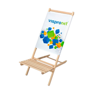 The Promotional Kid's Chair includes your custom graphic print and can hold up to 150 lbs