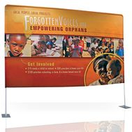 Backdrop Printing - Backdrop Banner Stand Display