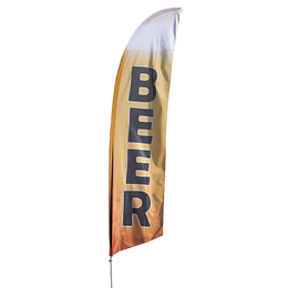 Beer Feather Flag Kit