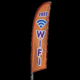 Free Wi-Fi Feather Flag Kit
