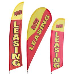 Now Leasing Feather Flag Kit