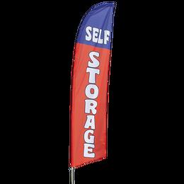 Self Storage Feather Flag Kit
