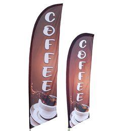 Coffee Feather Flag Kit