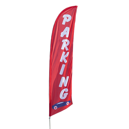 Parking Feather Flag Kit