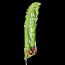 Fresh Produce Feather Flag Kit