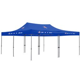 20x20 Deluxe Tent with full-color logo print