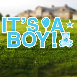 It's a Boy Yard Letters Set