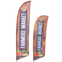 Famers Market Banner Flag