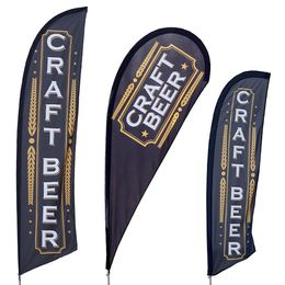 Craft Beer Feather Flag Kit
