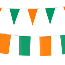 Solid Color String Pennants