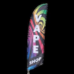 Vape Shop feather flag