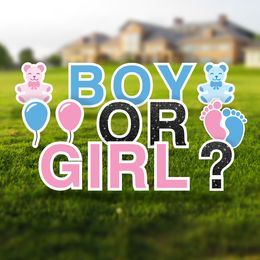 Gender Reveal Yard Letters