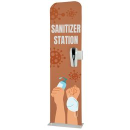 Custom Hand Sanitizer Station