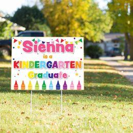 Elementary School Graduation Yard Sign