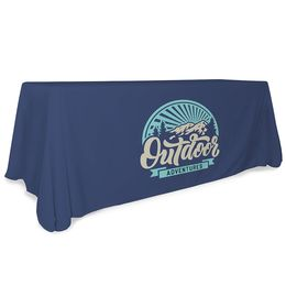 Logo Print Table Throw