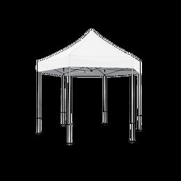 White Pavilion Pop Up Tent Deluxe 13 x 13 & Walls