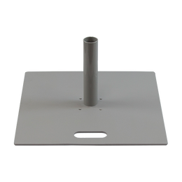"""Base Plate 22""""x22"""" with Umbrella Connector"""