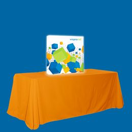 Backlit Pop Up Booth Straight 2.5ft x 2.5ft