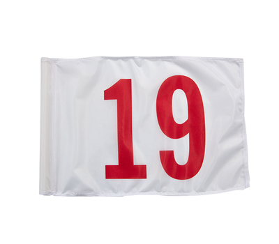 Order the #19 flag by itself for your own back yard