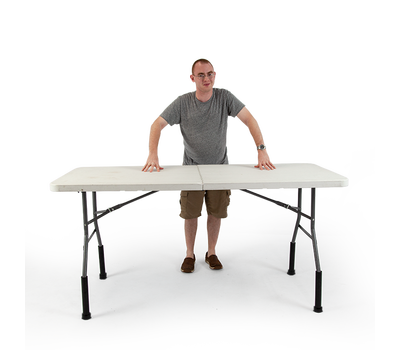 Work comfortably while standing - do your back a favor and raise your table