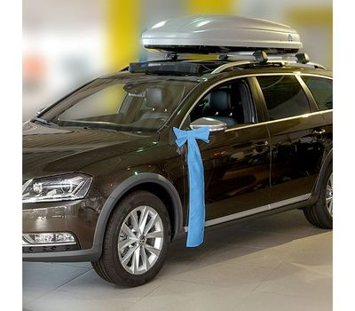 You can also use these bows to draw attention to automobiles you have for sale
