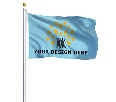 Custom Printed Event Flags