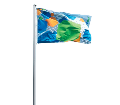 Print over entire flag at no extra cost