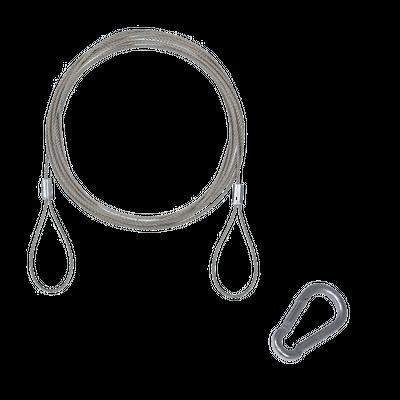Hanging Kit 10.0' Steel Rope