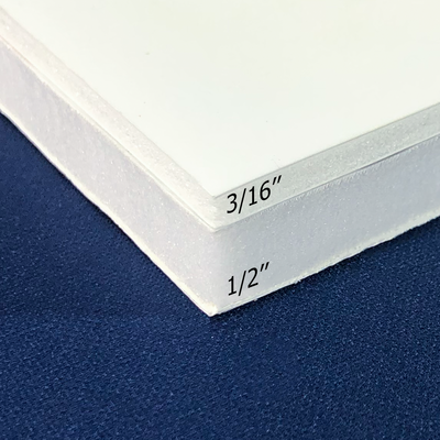 "3/16"" or 1/2"" thick foam core signs available"