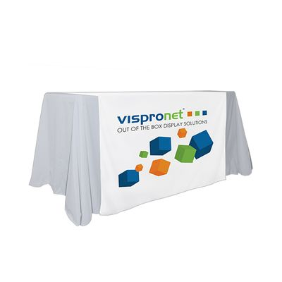 Custom table runner available in logo or full printing options