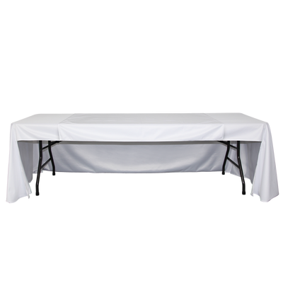 With Back or No Back custom table runner coverage options are available