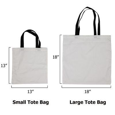 custom totes sizes