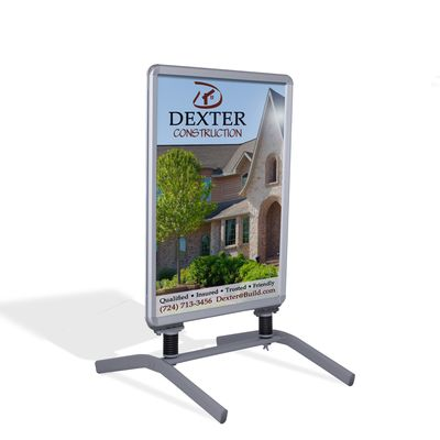 Indoor Snap Frame Poster Stand