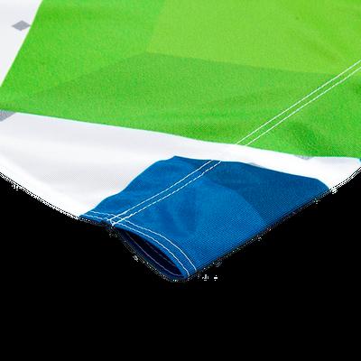 Custom 3x5 flag finishing options