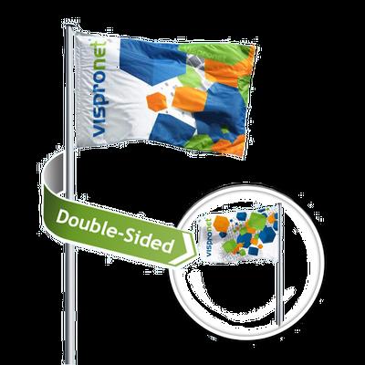 Custom Double Sided Flags