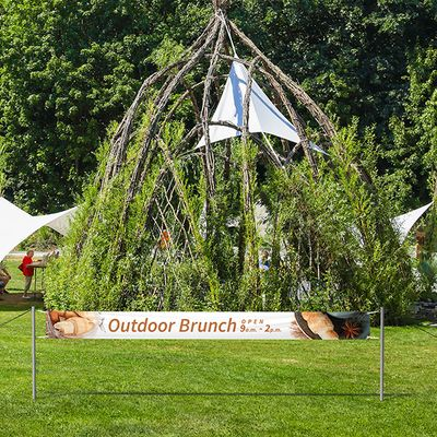 Promote your outdoor event with ease and in style