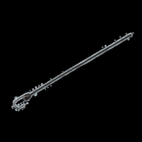 Black Bungee Cord with Metal Hook